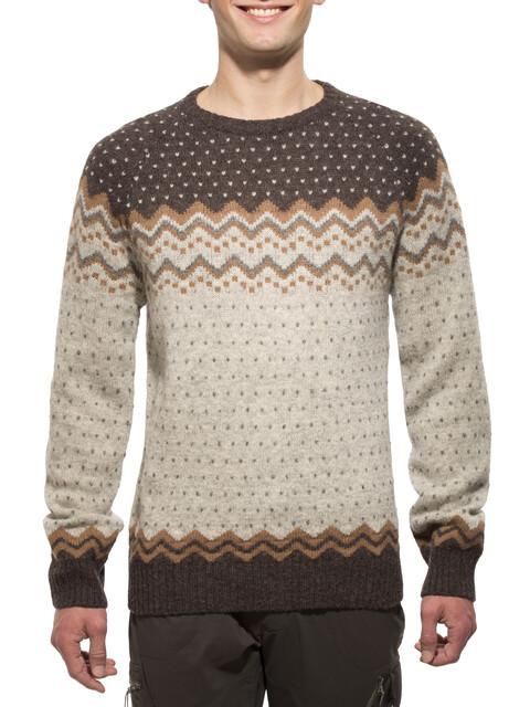 Fjällräven Övik Knit Sweater Men Sand